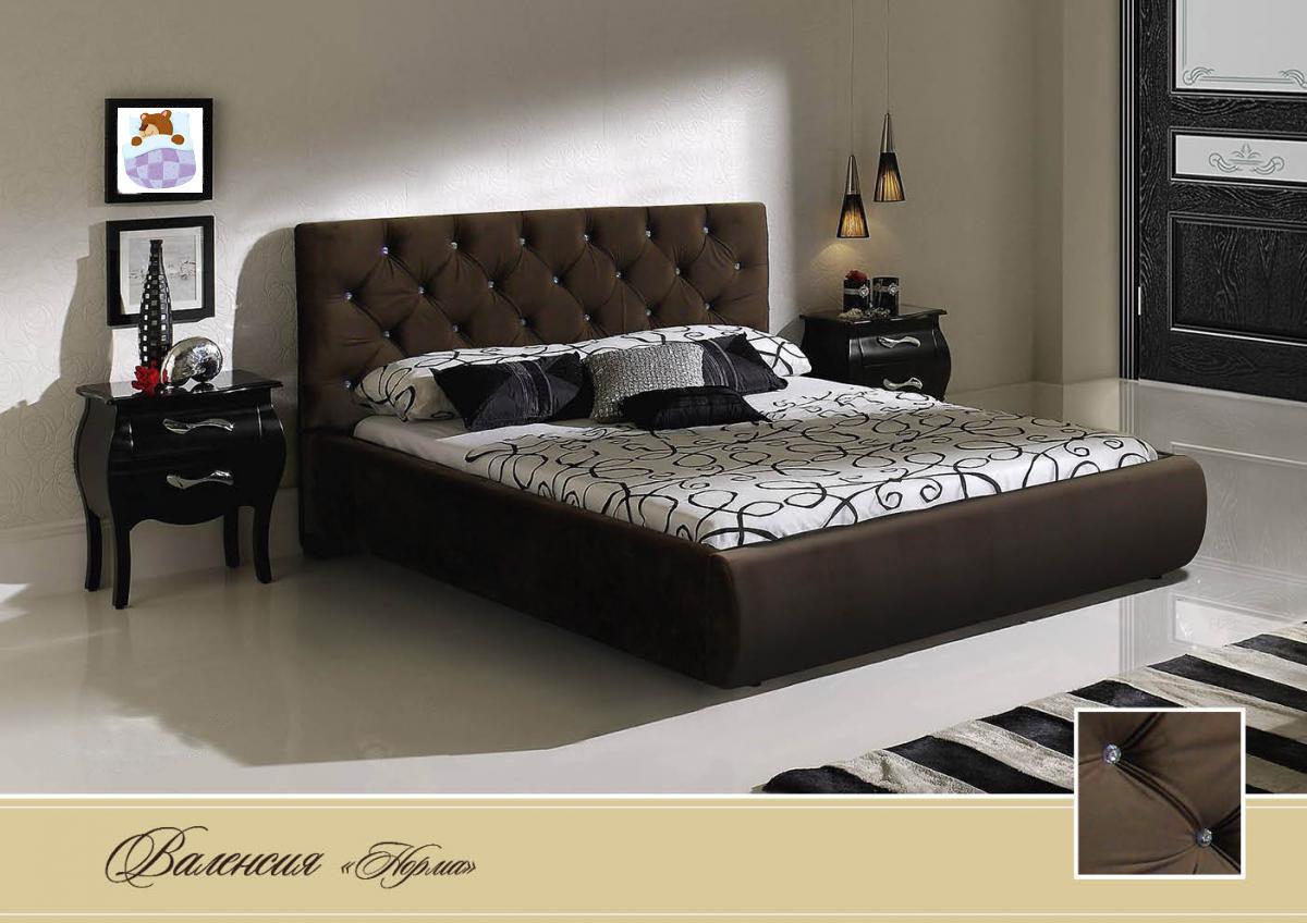 a02491720 Кровать Диана Руссо Валенсия (норма) с подъёмным механизмом: низкая ...